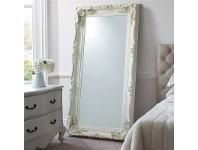 LivingStyles celyn Leaner Mirror, 176cm, Cream