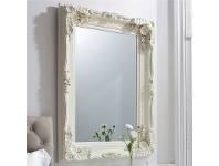 LivingStyles celyn Wall Mirror, 120cm, Cream