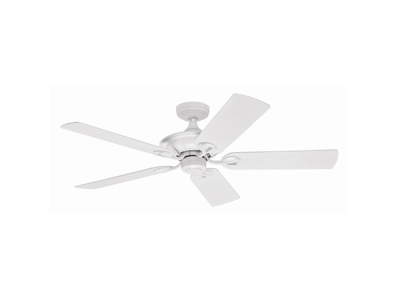 Hunter Maribel White Outdoor Ceiling Fan with White Blades
