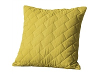 LivingStyles Becky Quilted Cotton Scatter Cushion, Chartresuse