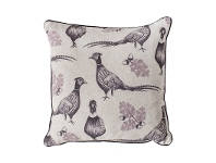 LivingStyles Ripole and Acorn Scatter Cushion, Plum