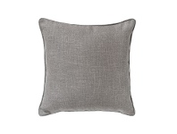 LivingStyles Acri Piped Scatter Cushion, Heather