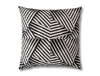LivingStyles Burough Geo Feather Filled Floor Cushion