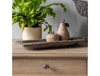 LivingStyles Heron Rustic Wooden Tray