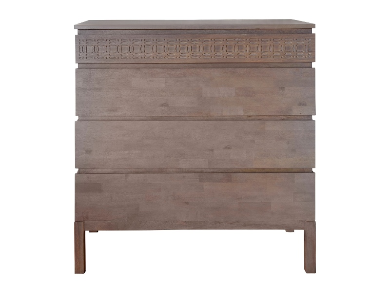 Boho Mango Wood 4 Drawer Chest