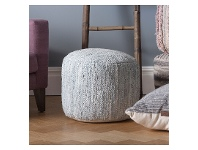 LivingStyles Graciexite Round Pouffe