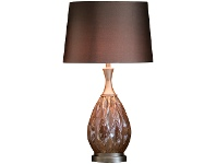 LivingStyles Cercei Glass Table Lamp