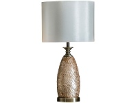 LivingStyles Marcus Metal Table Lamp