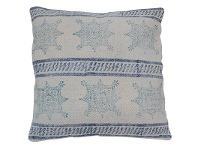 LivingStyles Elsa Stars and Stripes Cotton Scatter Cushion
