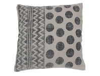 LivingStyles Ethelyn Circle Cotton Scatter Cushion