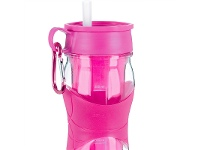 LivingStyles Trudeau 470ml Twin-wall Cool Off Hydration Bottle - Magenta
