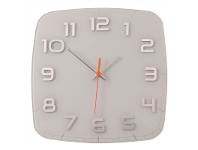 LivingStyles NeXtime Classy Square Wall Clock - White