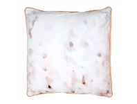LivingStyles Solar Fabric Scatter Cushion, Peach Trim