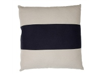 LivingStyles Bronte Oversized Fabric Cushion, Black