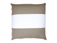 LivingStyles Bronte Oversized Fabric Cushion, White