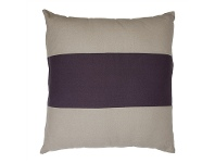 LivingStyles Bronte Oversized Fabric Cushion, Purple