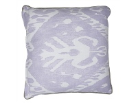 LivingStyles Zulu Fabric Scatter Cushion, Misty Lilac