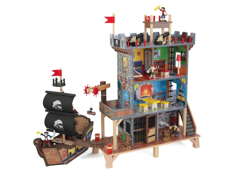 KidKraft Pirate Cove Wooden Play Set