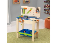 LivingStyles Kidkraft Deluxe Work Bench with Tools