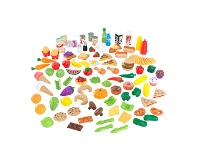 LivingStyles KidKraft Deluxe Tasty Treats 115 Piece Play Food Set