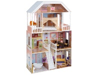 LivingStyles Kidkraft New Savannah Dollhouse (14 pc furniture)