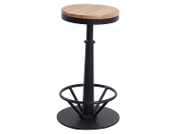 Campville Commercial Grade Industrial Steel Counter Stool