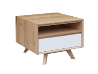 LivingStyles Sibil Wooden Lamp Table