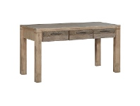 LivingStyles Albergo Acacia Timber Desk, 140cm