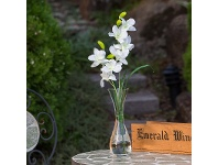 Set of 4 Small Artificial Ocean Orchid - White