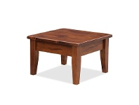 LivingStyles Brighton Solid Pine Lamp Table in Chestnut