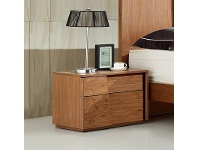 LivingStyles Manus Wooden Left Hand Facing Bedside Table