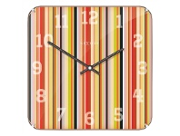LivingStyles NeXtime Smithy Square Dome Wall Clock