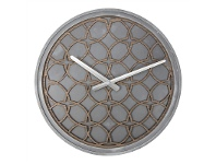 LivingStyles Nextime Concrete Love Round Wall Clock