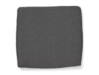 LivingStyles Ashby Indoor/Outdoor Fabric Seat Pad - Grey