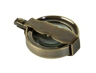 LivingStyles Travelers Solid Brass Magnifier