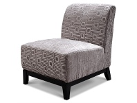 LivingStyles Ace Morgan Linara Fabric Sofa Chair - Taupe