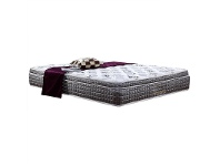 LivingStyles Stardust Affinity Multi Zone Medium Firm Mattress with Pillow Top, Double