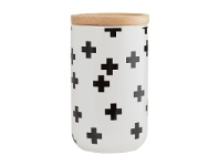 LivingStyles Adair Ceramic Tall Canister