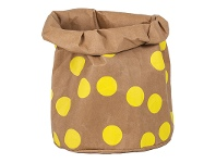 LivingStyles Mossman Wash Paper Storage Bag, Extra Large, Brown