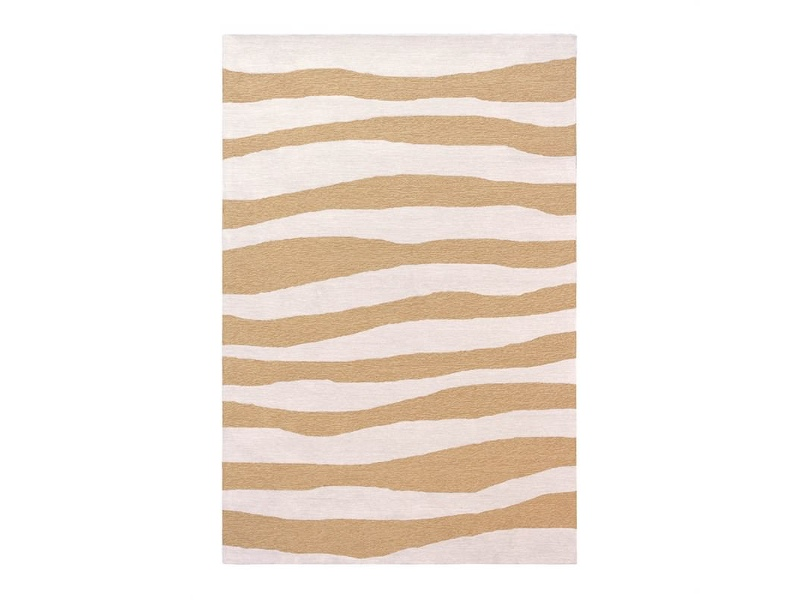 Anywhere Waves Hand Tufted Indoor/Outdoor Rug, 240x340cm, Ginger