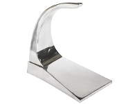 LivingStyles Aluminium Airplane Scale Model Display Stand