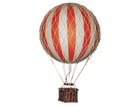 LivingStyles Floating The Skies Hot Air Balloon Model, Red