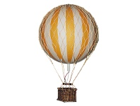 Floating The Skies Hot Air Balloon Model, Yellow