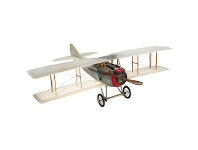 LivingStyles Spad XIII Capel Coch Transparent Airplane Scale Model