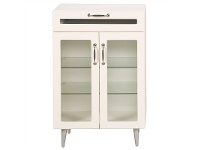 Aspen Wooden 2 Door 1 Drawer Office Storage Unit