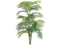 LivingStyles Artificial Areca Palm in Pot, 150cm