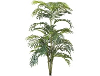 LivingStyles Potted Artificial Areca Palm, 180cm