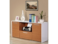 LivingStyles Active 2 Door 1 Drawer Office Sideboard