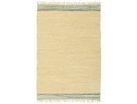 LivingStyles Atrium Hunter Cotton Rug, 320x230cm, Yellow