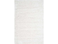 Austin Plush Turkish Made Shag Rug, 160x220cm, White